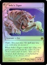 Future Sight  Foil  MTG  Seht's Tiger  Magic