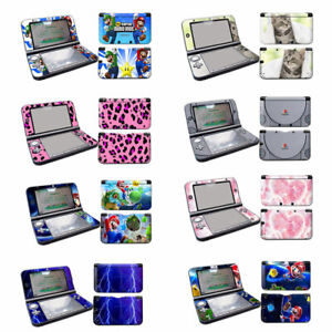 full Vinyl Skins Sticker decal cover for Nintendo 3DS XL LL Console set