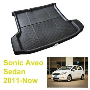 For Chevrolet Sonic Aveo sedan 2011-20 Car Rear Trunk Tray Liner Cargo Mat Floor