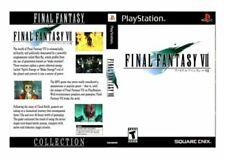 Jeux vidéo pour Sony PlayStation 1 Final Fantasy