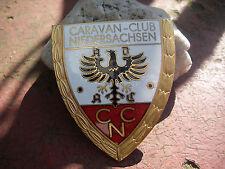 ADAC Caravan Club Bassa Sassonia-PLACCA BADGE CAR Grille plaque