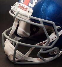 ODELL BECKHAM JR. NEW YORK GIANTS Riddell SPEED Football Helmet FACEMASK (GRAY)