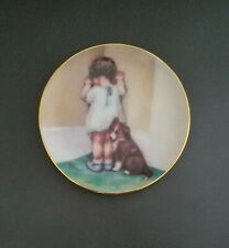 In Disgrace Collector's Plate Bessie Pease Gutmann with Collie - 1992