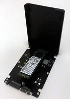 """Hynix Samsung WD Tosh. etc M.2 SSD 128GB inkl. 2,5"""" SATA-Gehäuse 6.0 Gb/s Adapt."""