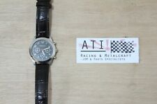 Rare JDM Subaru Legacy Leather Wrist Watch Clock Stopwatch