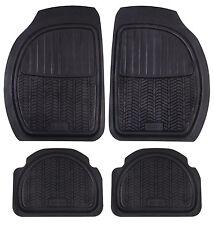 MICHELIN 4 tappeti auto universali caucciù nero motivo scolpiture pneumatico