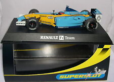 SUPERSLOT H2398 SLOT CAR RENAULT R23 F1  #8 FERNANDO ALONSO  SCALEXTRIC UK  MB