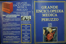 GRANDE ENCICLOPEDIA MEDICA PERUZZO N° 12 / 1978