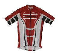 NEUF origine France Barbedo Full Zip Maillot de Cyclisme Protection Uv Tech Dry