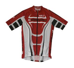 Louis Garneau Reflec Resistex Carbon men's cycling jersey Made in Canada new