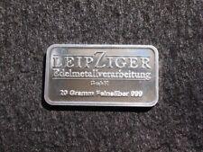 20 g Silberbarren