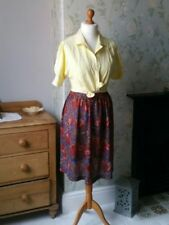 Ethnic/Peasant Regular Original Vintage Skirts for Women