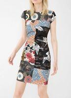 abito tubino DONNA desigual ORIGINALE vestito fantasia jappo-DRESS 67v20f5