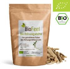 BioFeel - Bio Ashwagandha Pulver, 100g