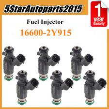 6pcs Fuel Injector 16600-2Y915 for Nissan 350Z Pathfinder Infiniti FX35 G35 3.5L