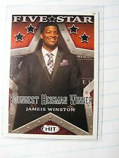 Jameis Winston 2015 Sage Hit Five Star Heisman Card 147 College / Rookie Card NF