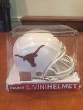 Texas Longhorns Mini Helmet by Riddell New in Box Hook Em Horns