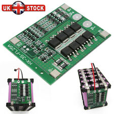 3S 12V 25A 18650 Li-ion Lithium Battery BMS Protection PCB Board With Balance UK