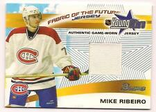 2001/2 Bowman Rookie Jersey Mike Ribeiro Montreal Canadiens