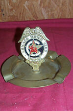 Old Ashtray Chicago Motor Club Honor Member Cigarette Vintage Auto Car Collector