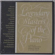Legendary Masters Of The Piano - SWV 6633 - 3 × Vinyl/LP/Compilation/Box set -EX