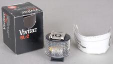 Vivitar SL-2 Remote Flash Trigger Slave Mint in  box !