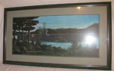 USS Ranger CV-61 U.S. Navy Aircraft Carrier Picture C. Gilma Matted & Framed