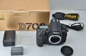 Nikon D D700 12.1MP Digital SLR Camera Black Body BOXED GREAT CONDITION