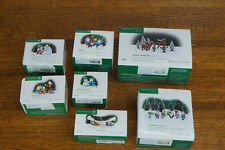 Lot of 7 Department 56 Christmas North Pole Series Figures