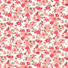 Sevenberry DITSY FLOWERS Floral Fabric - Pink