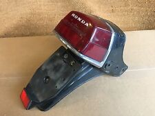 HONDA  CX500  CX 500  REAR TAIL PIECE  BACK LIGHT & NO PLATE BRACKET  FENDER