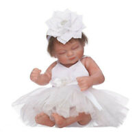 Cute Handmade Lifelike Girl Soft Silicone Doll Reborn Baby Dolls Gifts for Girls