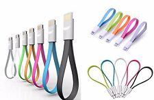 CÂBLE PLAT 22CM MICRO USB recharge et données pour Samsung Galaxy s3 s4 HTC LG