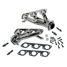 "BBK 4008 1-5/8"" Unequal Length Shorty Headers Chrome, For 99-04 Mustang 3.8L V6"