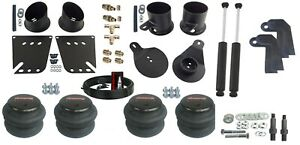"3/8"" Air Ride Suspension Kit & Shock Relocator Fits 1958-64 Chevy Impala Caprice"