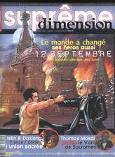 REVUE SUPRÊME DIMENSION N°17  OCTOBRE-NOVEMBRE 2007.