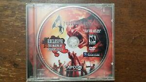 The Making of Resident Evil 4 DVD Gamecube Promo
