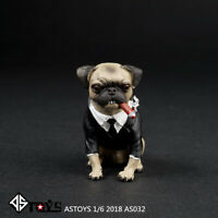 "ASTOYS AS032 Black Frank Dog with Cigar 1/6 Fit for 12"" action figure"