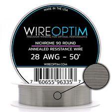 28 Awg Nicromo 90 Filo 15.2m - N90 Filo 28g Ga 0.32 mm 15.2m