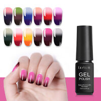 LILYCUTE 7ml 3 Layers Temperature Color Changing Nail Gel Polish Soak Off UV Gel