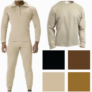 ECWCS Military Fleece Thermals Extra Warm Winter Underwear Long Johns Base Layer