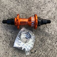 OLD SCHOOL!! BRAND NEW MACNEIL BMX BIKE RHD HUB - ORANGE