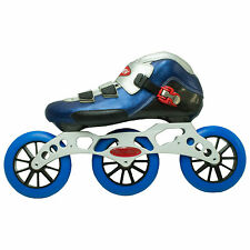 Trurev 3-125mm inline skate . 125mm wheels, ceramic bearings. Size 13