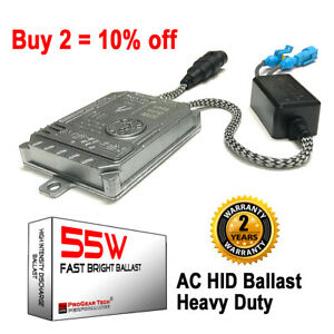 55W Heavy Duty Fast Bright AC HID Xenon Aftermarket Replacement Ballast 1 PC