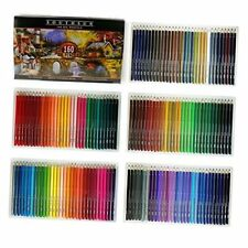 160 Colors Wood Colored Pencils Set Artist Painting Oil Based Pencil For School