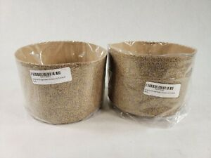 Lot of 2 Honey Can Do Brown Pastry Chefs Fine Paper Panettone Mold 8X6.75 Inches