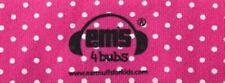 Em's 4 Bubs Baby Earmuffs Headband Only 18 Months And Up Pink & White