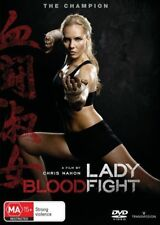 LADY BLOODFIGHT DVD, NEW & SEALED, 2017 RELEASE, REGION 4, FREE POST