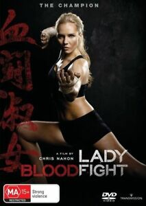 LADY BLOODFIGHT DVD, NEW & SEALED, 2017 RELEASE, FREE POST