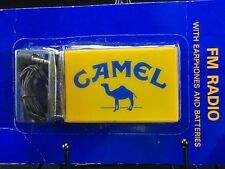 Camel Cigarette FM Radio New Old Stock Sealed NEW